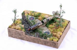Spitfire abandoned 1/72